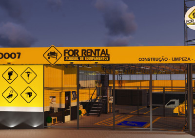 Projeto Comercial – For Rental