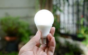reforma sustentavel - lampada